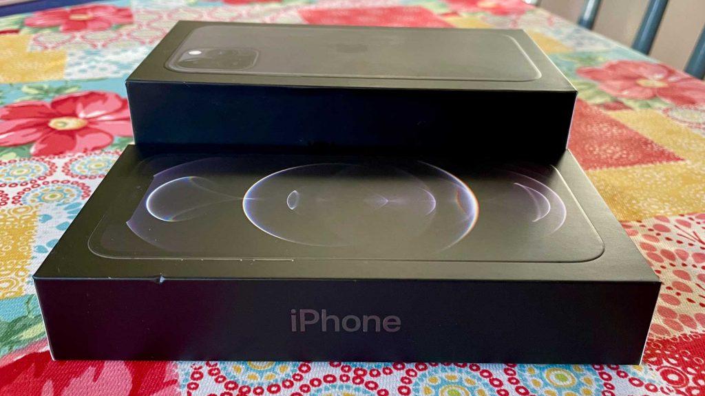 iPhone 12 Pro Box vs 11 Pro