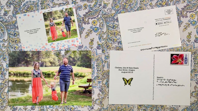 Sending Real Postcards from Your Phone Couldn't be Easier!